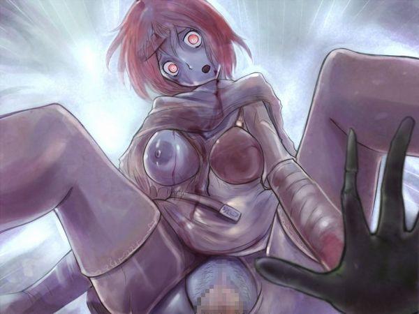 【避妊不必要】ゾンビ娘の二次エロ画像【12】