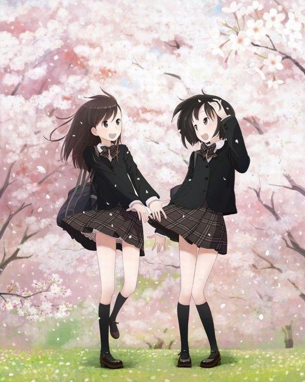 【もうすぐ春ですね】桜と美少女な二次画像【5】