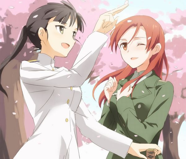 【もうすぐ春ですね】桜と美少女な二次画像【14】