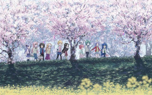 【もうすぐ春ですね】桜と美少女な二次画像【15】