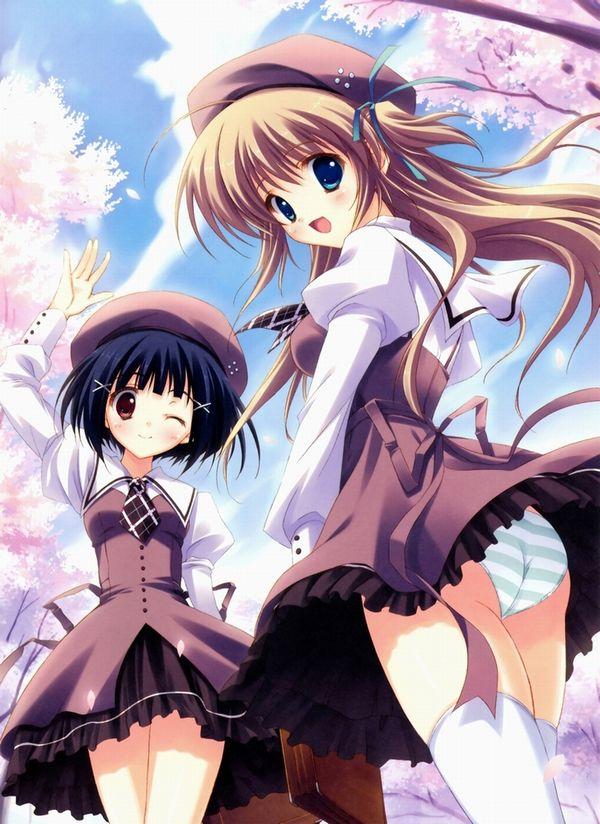 【もうすぐ春ですね】桜と美少女な二次画像【32】