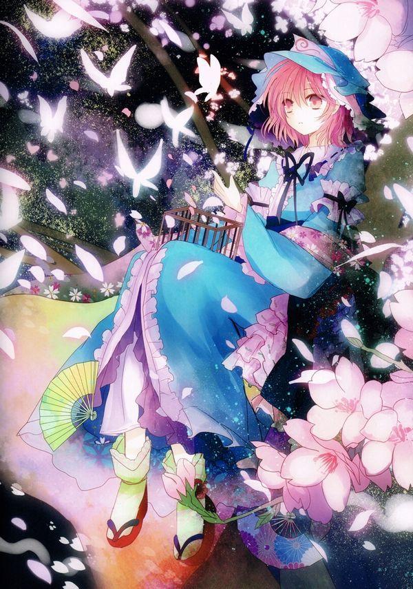 【もうすぐ春ですね】桜と美少女な二次画像【41】