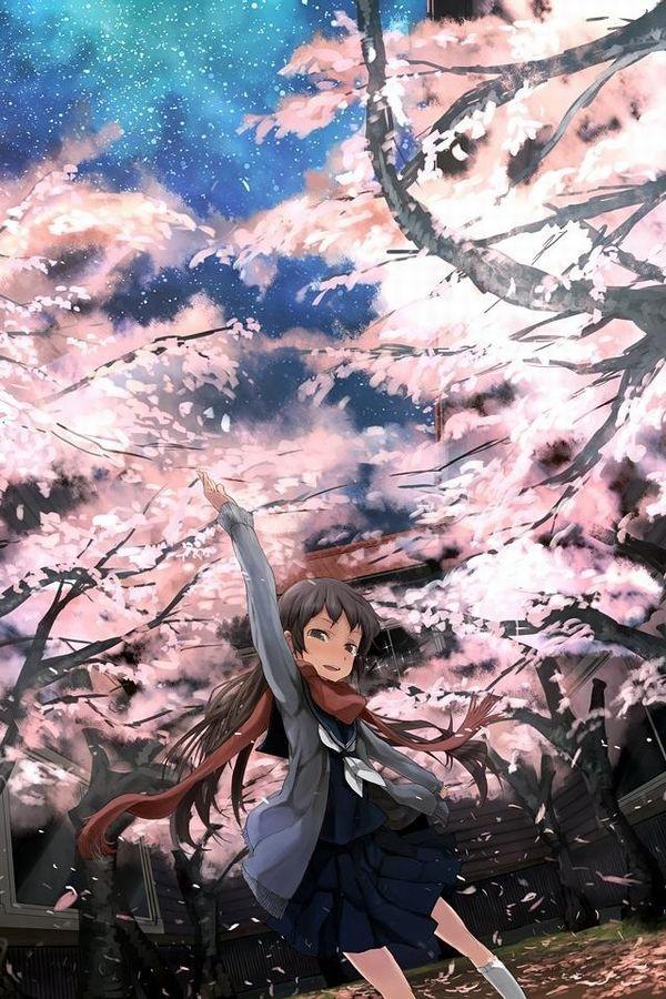 【もうすぐ春ですね】桜と美少女な二次画像【43】