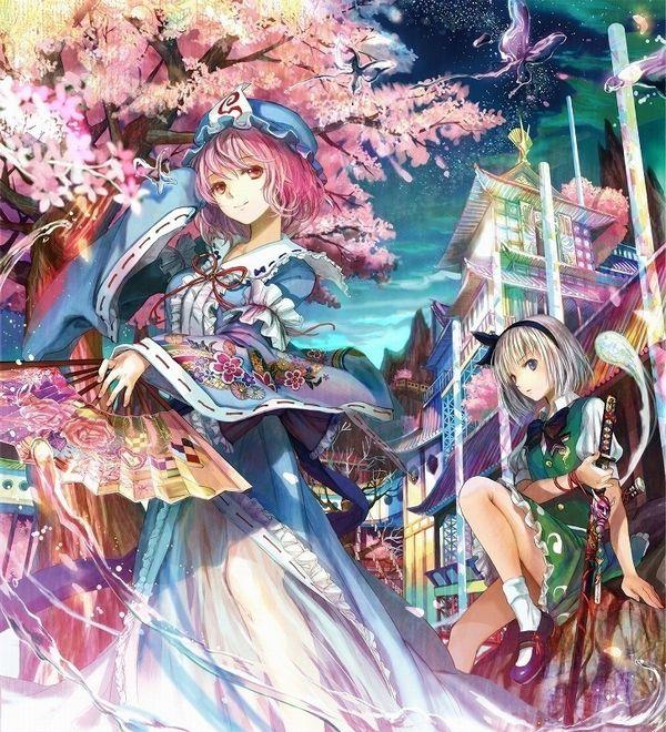 【もうすぐ春ですね】桜と美少女な二次画像【46】