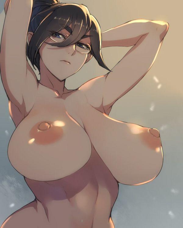【ベストコンビ】メガネ巨乳女子の二次エロ画像【4】