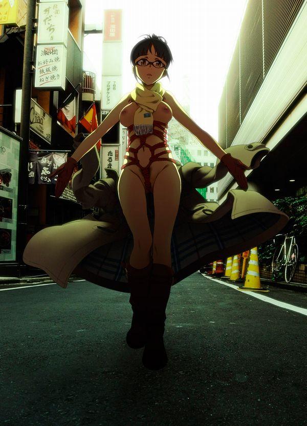 【幽霊よりビビる】街中でいきなり痴女に遭遇した!!!みたいなシチュの二次エロ画像 【21】