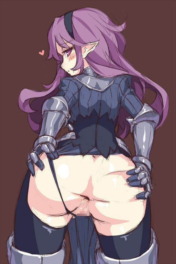 【アナル】「ぎょう虫いないか見て!」とお尻広げて肛門を見せる二次エロ画像 【46】
