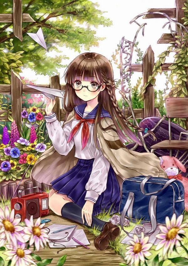 【昭和】おさげに眼鏡・・・テンプレのようなJKの二次画像 【8】