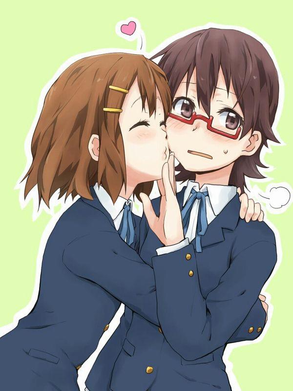 【ソフトレズ】抱き合ってる女子の二次エロ画像【9】