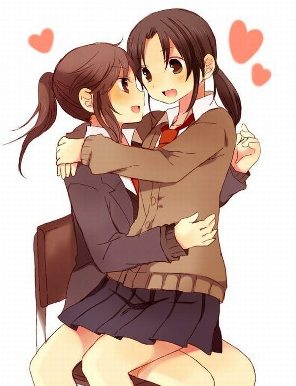 【ソフトレズ】抱き合ってる女子の二次エロ画像【22】