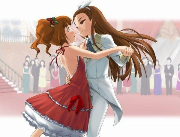 【ソフトレズ】抱き合ってる女子の二次エロ画像【44】
