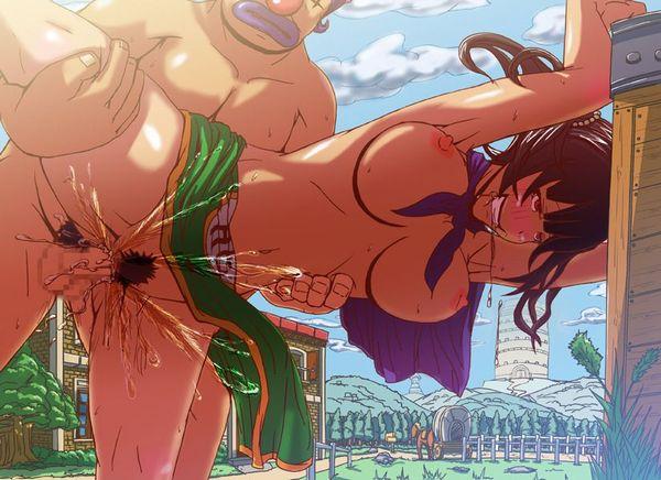 【ドラゴンクエストⅢ】夜だったら喜んで戦いたい女武闘家のエロ画像【35】