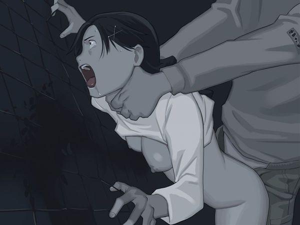 【一歩間違えればただの殺人】首絞めセックスしてる二次エロ画像【32】