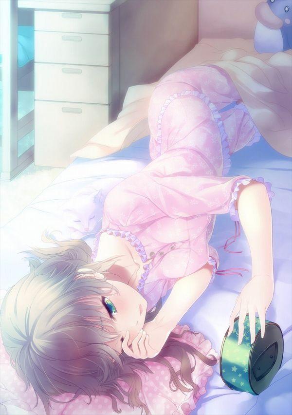 【夢うつつ】寝起きな女子達の二次エロ画像【16】