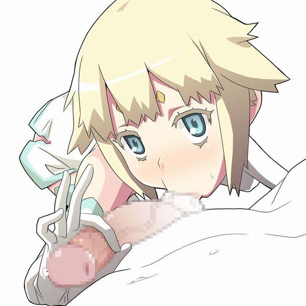 【玉舐め】飴玉のように金玉舐めてる女子の二次エロ画像【37】