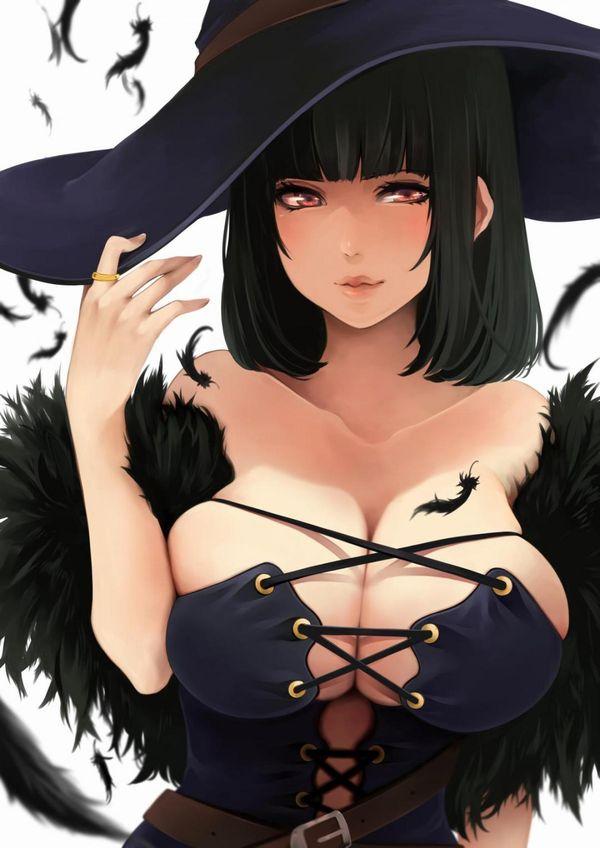 【NOT魔法少女】美人でエロそうな大人の魔法使い・魔女の二次エロ画像 【10】