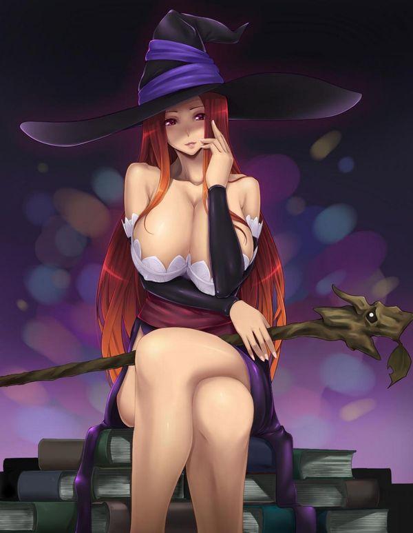 【NOT魔法少女】美人でエロそうな大人の魔法使い・魔女の二次エロ画像 【14】