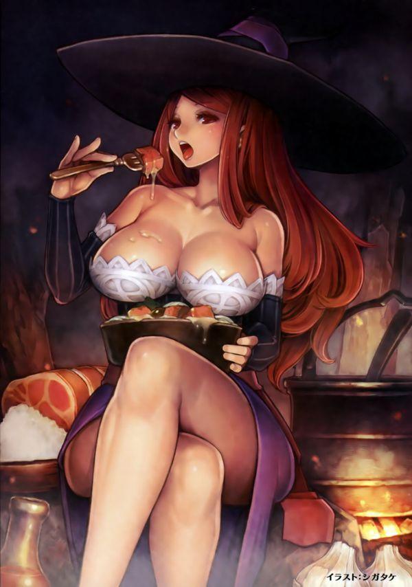 【NOT魔法少女】美人でエロそうな大人の魔法使い・魔女の二次エロ画像 【16】