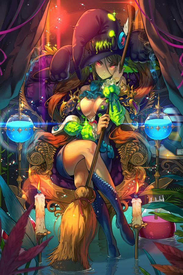 【NOT魔法少女】美人でエロそうな大人の魔法使い・魔女の二次エロ画像 【20】