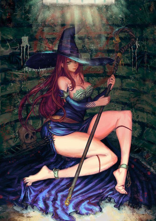 【NOT魔法少女】美人でエロそうな大人の魔法使い・魔女の二次エロ画像 【23】
