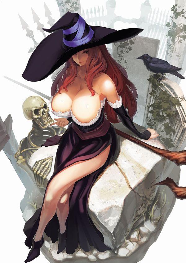 【NOT魔法少女】美人でエロそうな大人の魔法使い・魔女の二次エロ画像 【24】