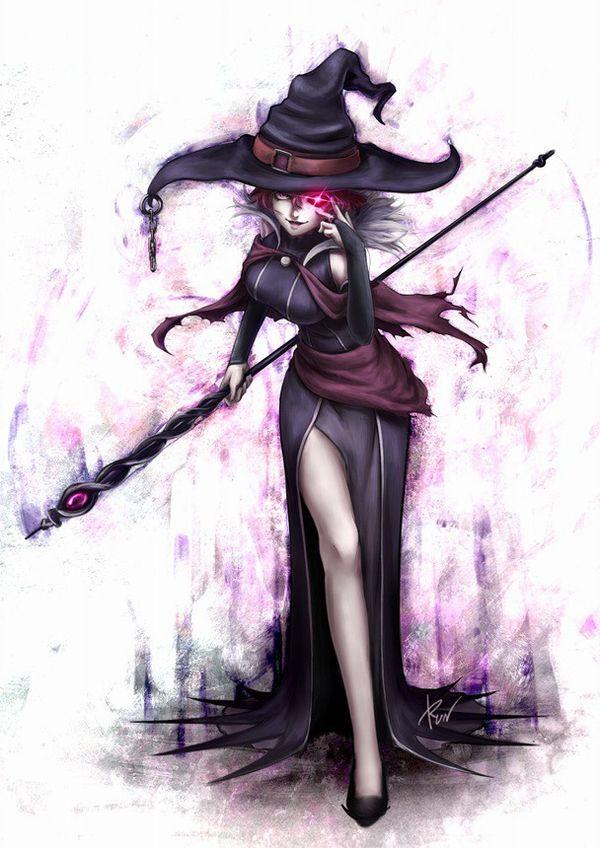 【NOT魔法少女】美人でエロそうな大人の魔法使い・魔女の二次エロ画像 【34】