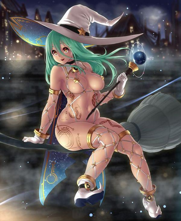 【NOT魔法少女】美人でエロそうな大人の魔法使い・魔女の二次エロ画像 【35】