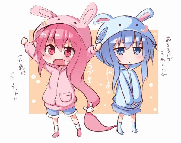【多分パジャマ】着ぐるみ着てる女子達の二次エロ画像 【35】