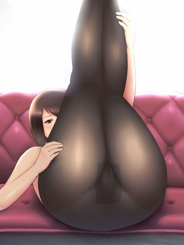 【江頭2:50スタイル】上半身裸に黒タイツな二次エロ画像 【13】