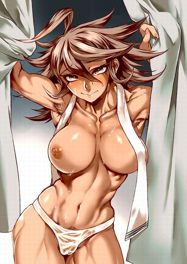 汗臭そうな筋肉女子の二次エロ画像 【18】