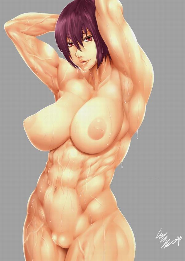 汗臭そうな筋肉女子の二次エロ画像 【19】