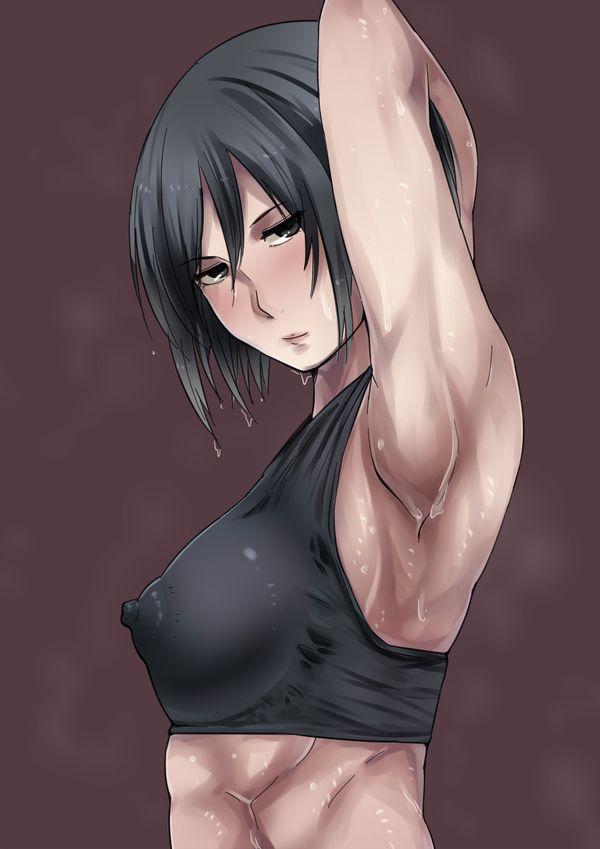 汗臭そうな筋肉女子の二次エロ画像 【29】