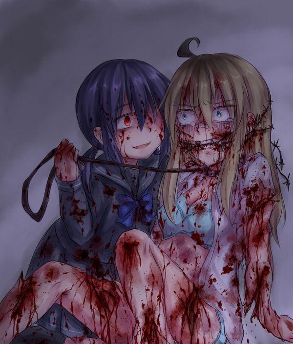 【百合?】同姓には容赦ない・・・女同士の拷問リョナ画像 【1】