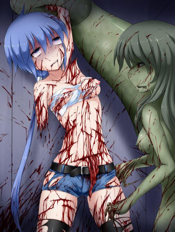 【百合?】同姓には容赦ない・・・女同士の拷問リョナ画像 【14】