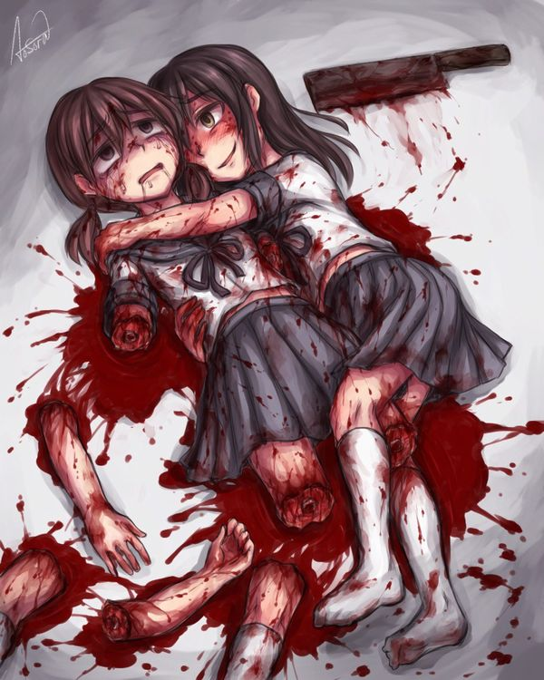 【百合?】同姓には容赦ない・・・女同士の拷問リョナ画像 【26】