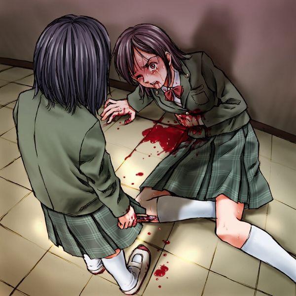 【百合?】同姓には容赦ない・・・女同士の拷問リョナ画像 【32】