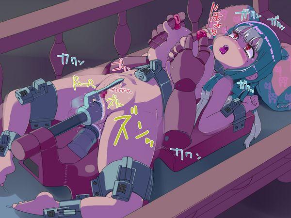 【機械姦】無機物に無理矢理イかされる女子達の強制アクメ画像 【15】