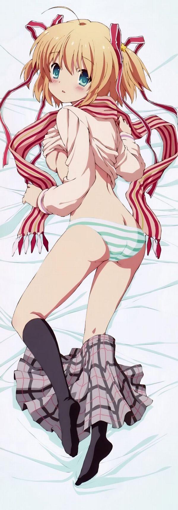 【寝尻】寝ている女子の尻に顔を埋めたい方向けの二次エロ画像 【36】