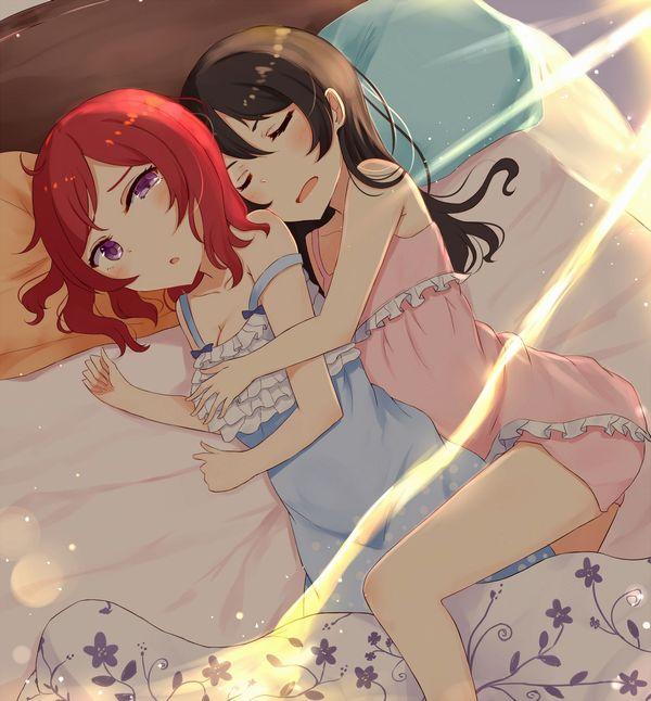 【これは据え膳】寝てる女の子の二次画像 【37】