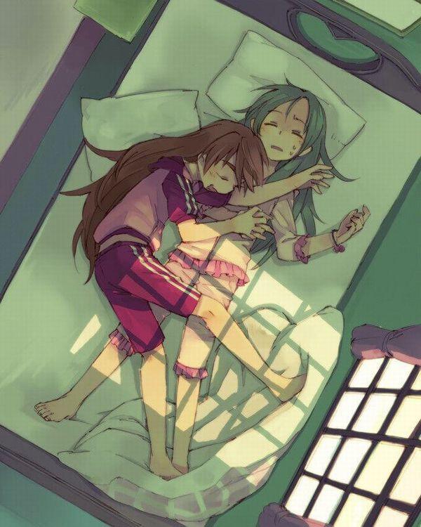 【これは据え膳】寝てる女の子の二次画像 【39】