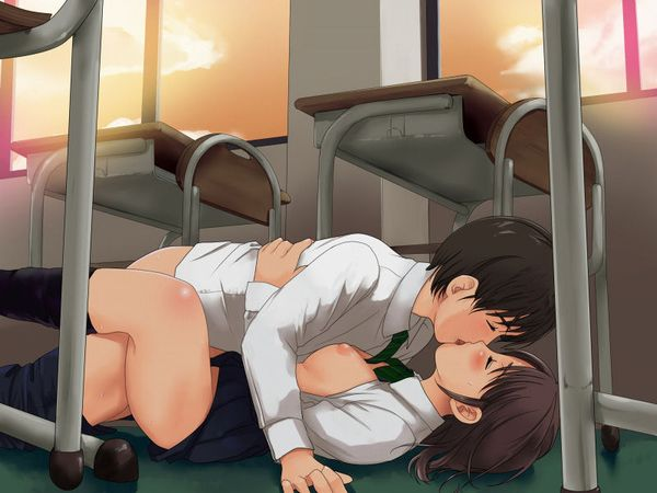 【ノンケ向け】幸せなキスをしてる二次エロ画像 【36】