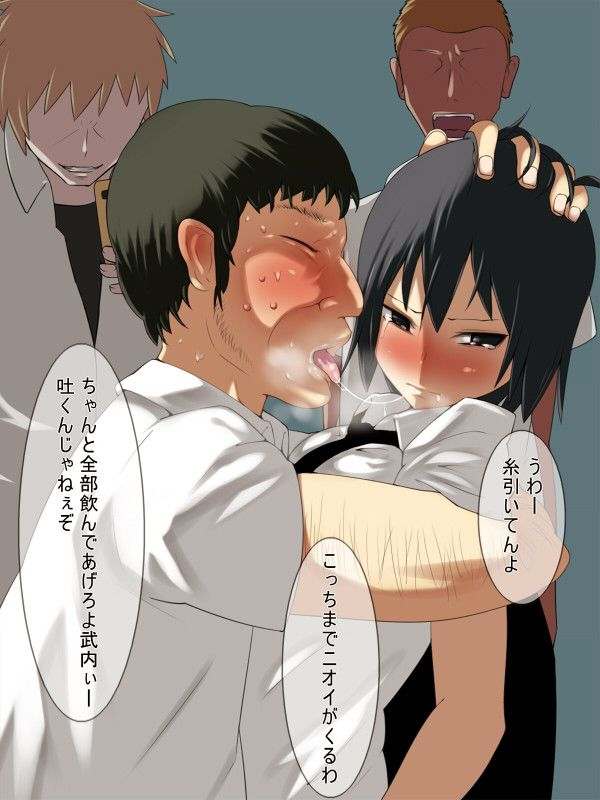 【強制ベロチュー】全く幸せそうじゃないキスをしてる二次エロ画像 【2】