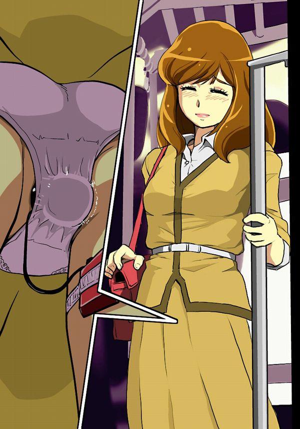 【街ブラ】パンツにローターとかバイブ仕込んで散歩する女子の二次エロ画像 【14】