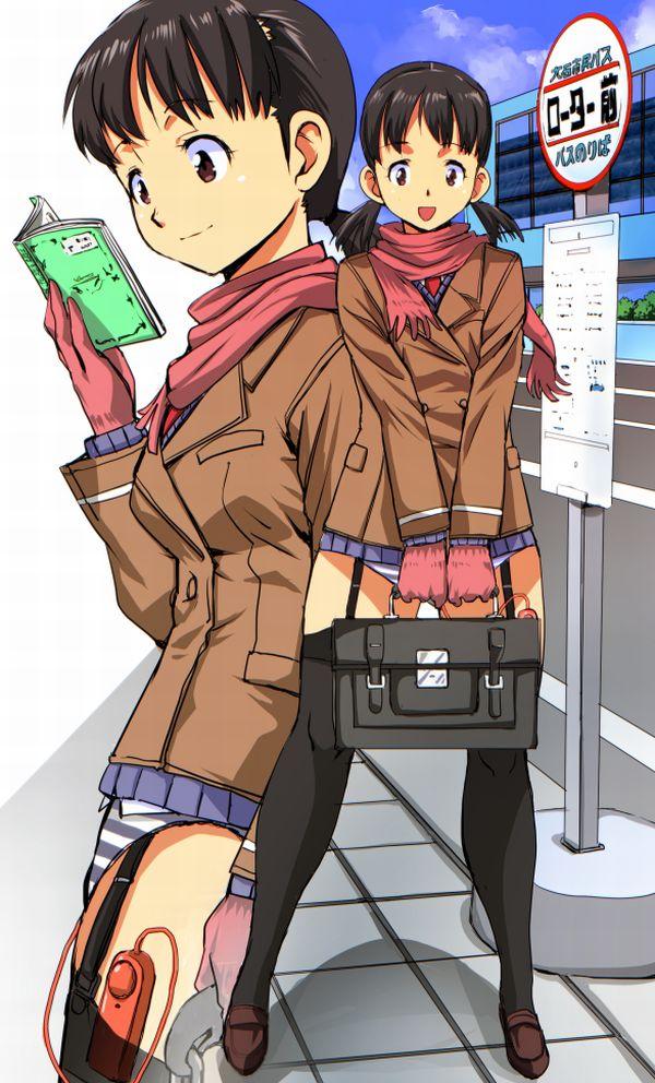 【街ブラ】パンツにローターとかバイブ仕込んで散歩する女子の二次エロ画像 【31】