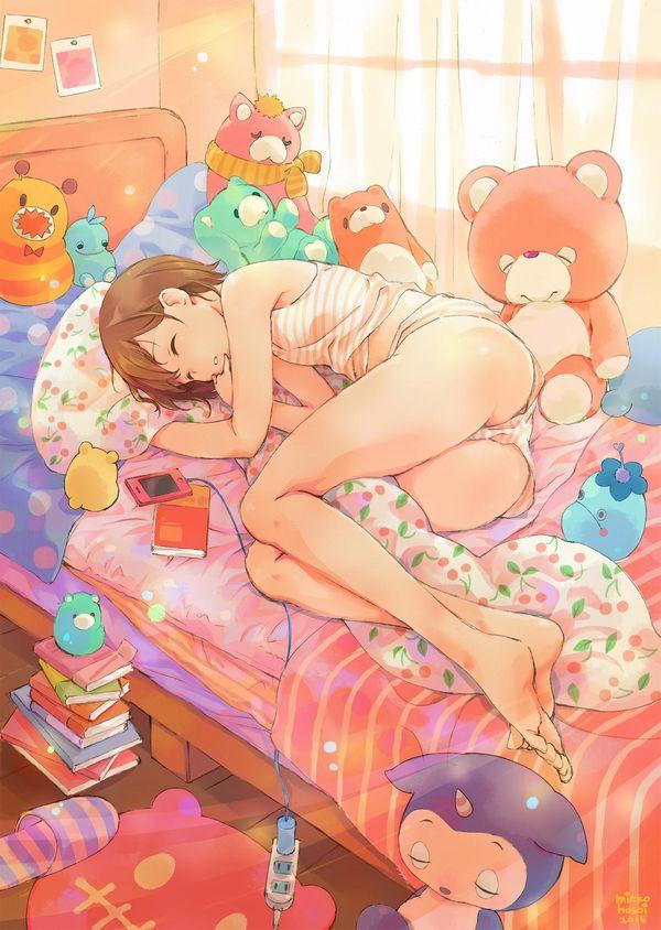 【一本ずつ舐めたい】自室にて裸足でくつろぐ女子達の二次画像 【4】