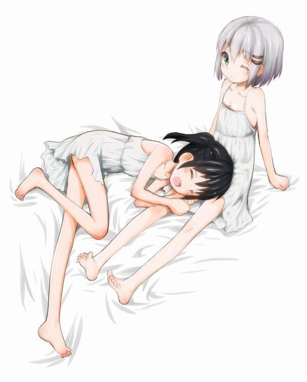 【一本ずつ舐めたい】自室にて裸足でくつろぐ女子達の二次画像 【26】