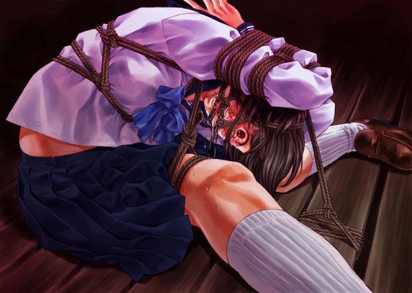 【生き地獄】悲惨な拷問を受けてる女の子の二次リョナ画像 【16】
