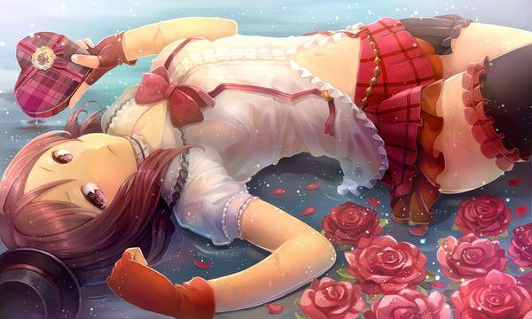 【濡れたり透けたり】着衣のまま海や川で遊ぶ美少女の二次エロ画像 【19】