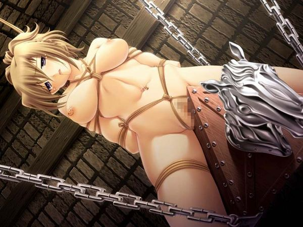 【避けちゃう】三角木馬に乗せられてマンコが痛そうな拷問二次リョナ画像 【21】