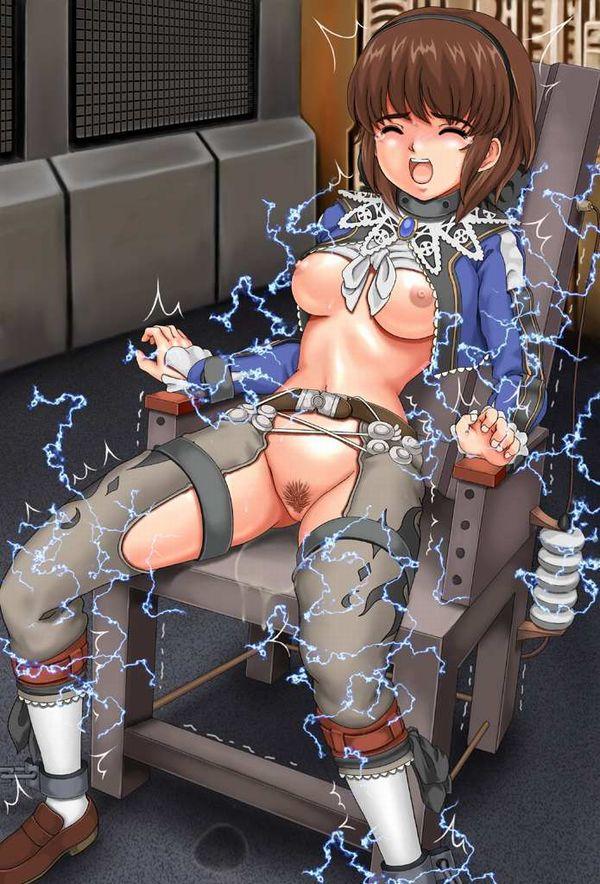 【リョナ】「拷問は任せろー」バリバリバリ『やめて!』電気系の拷問されてる女子達の拷問系二次エロ画像 【22】